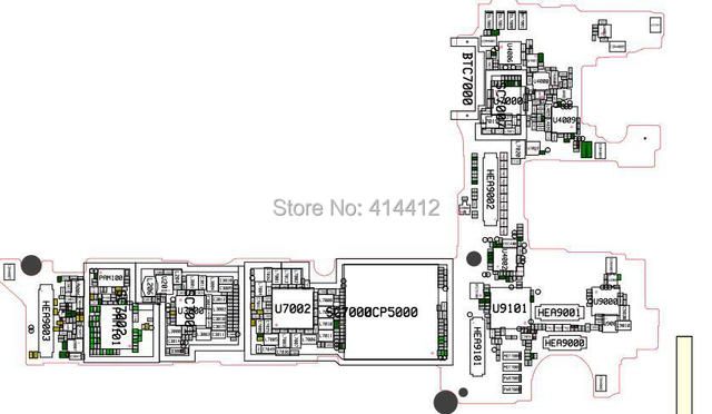 GALAXY Note 3 N900 smart phone repair reference Schematic
