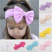 lovely baby girls cotton headband