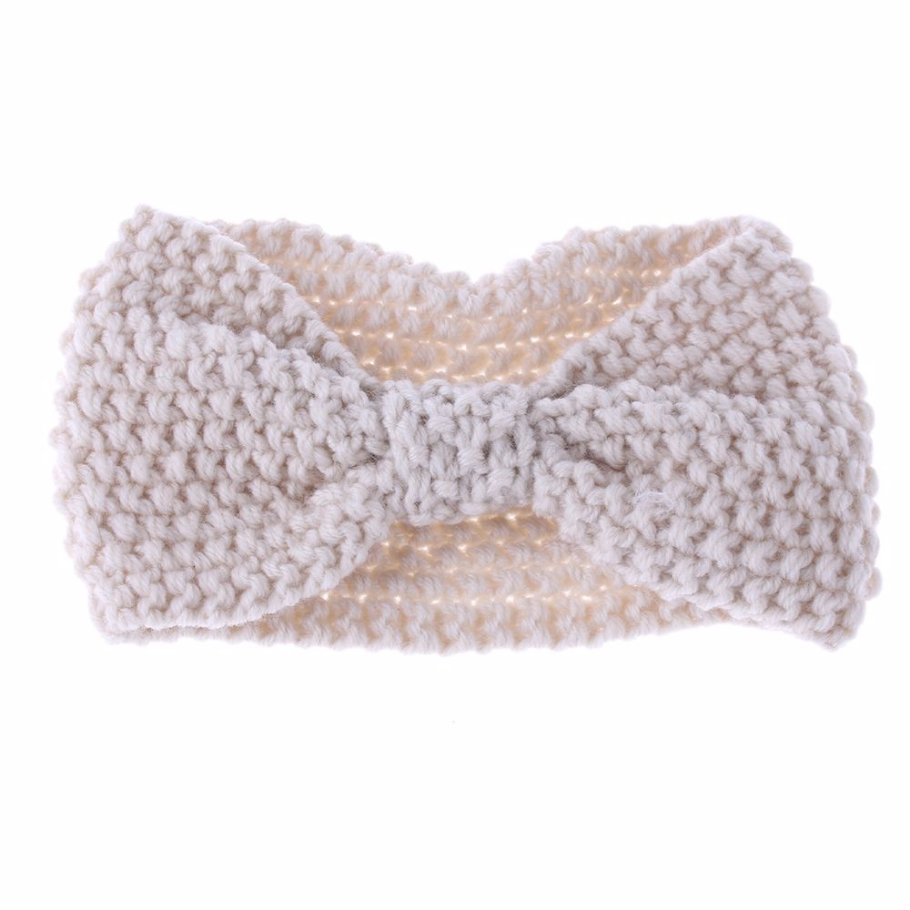 Ξ1 unid moda mujer chica crochet Cruz bowknot turbante suave ...