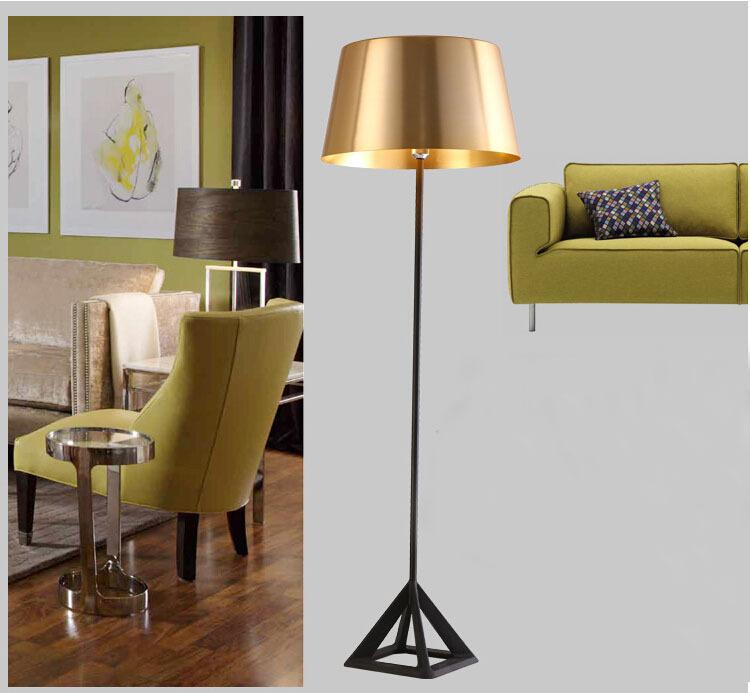 Online kopen Wholesale goud staande lamp uit China goud