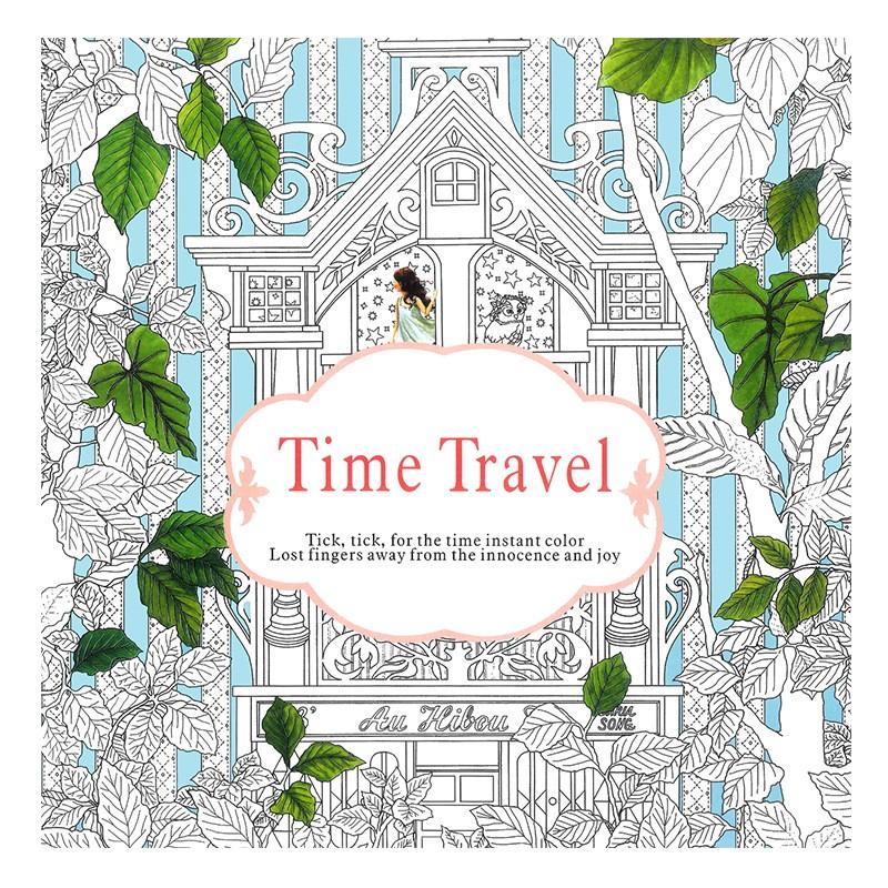 ᐅ4 unids/lote nueva versión inglés 24 páginas Time Travel lost ...