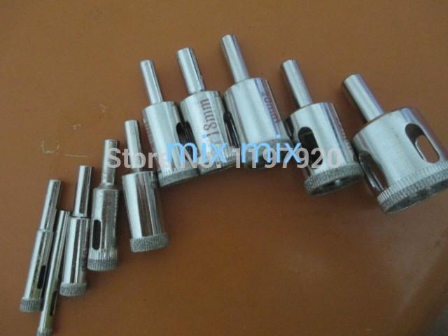 16 Mm Diamant Trou Scie Core Drill Bits pour tuiles en Verre Céramique Outil Rotatif 10Pcs