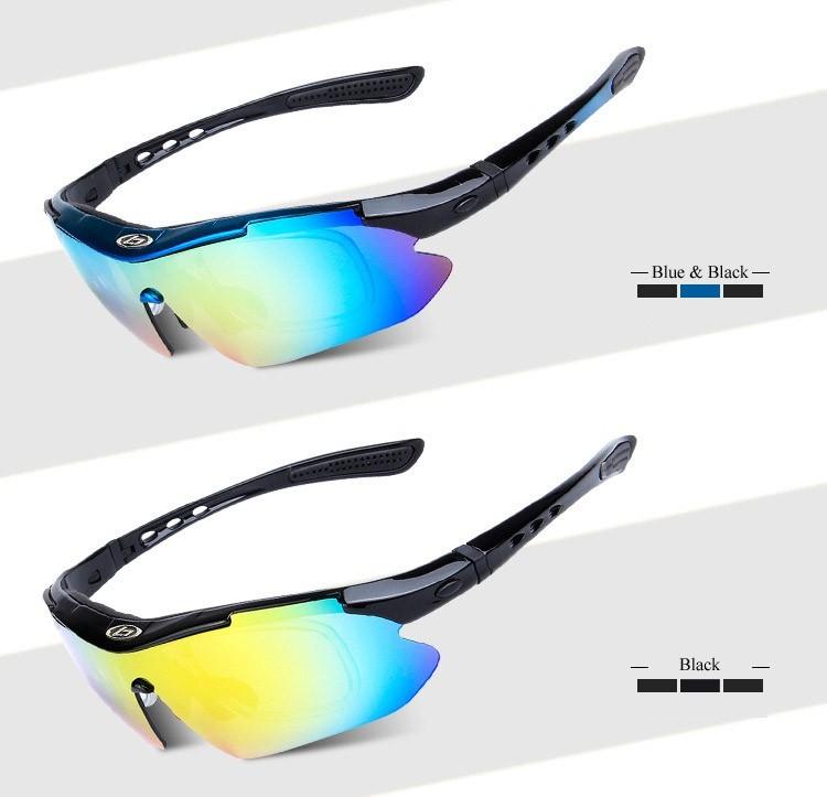 Hommes et femmes lunettes d'équitation en plein air hiver coupe-vent chaud lunettes de soleil ski de fond éviter les lunettes anti-UV , orange and black frame , Colorful