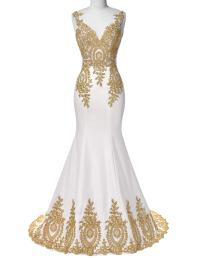 Popular White Gold Dress-Buy Cheap White Gold Dress lots ...