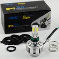 H4 LED Motorcycle Headlight Bulb M3S Bullet plug H6 PH7 White Light 32W 12V 3000LM High