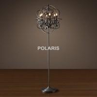 Factory Outlet Modern Vintage Crystal Candle Floor Lamp ...