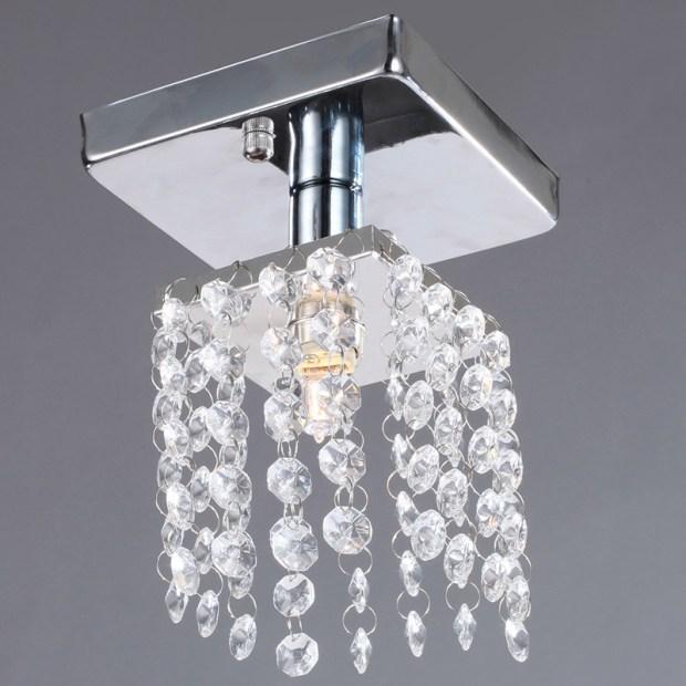 Semi Flush Mount Crystal Chandeliers