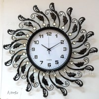 Wrought Iron Wall Clock - Bestsciaticatreatments.com