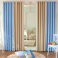 Modern minimalist Thick double sided curtain fabric ...