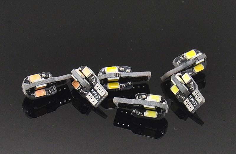 4 unids T10 placa del coche LED decoración de la lámpara pequeña ...