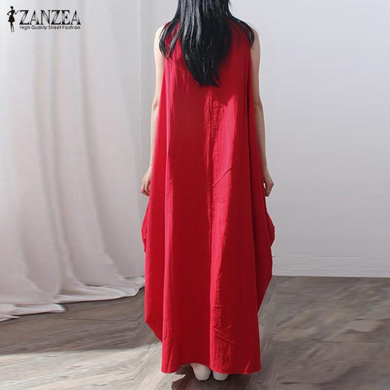 a9458e37a ∞ZANZEA Fashion 2018 New Arrival Womens Long Maxi Elegant Vestidos ...