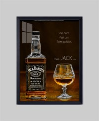Fashion JACK DANIELS Whisky No Frame home decor wall