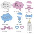 Diy baby shower photo booth props aliexpress com buy 10pcs photo