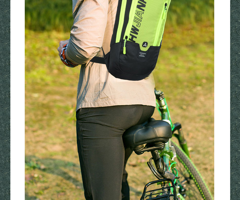 Durable MTB Bicycle Tail Bag Large Space Saddle Bag Outdoor Cycling Tackles C#P5