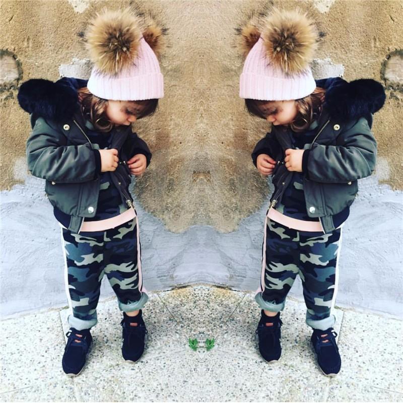 ᐂMTTUZB Frauen kinder mode warme hut mit zwei haarballen dame ...