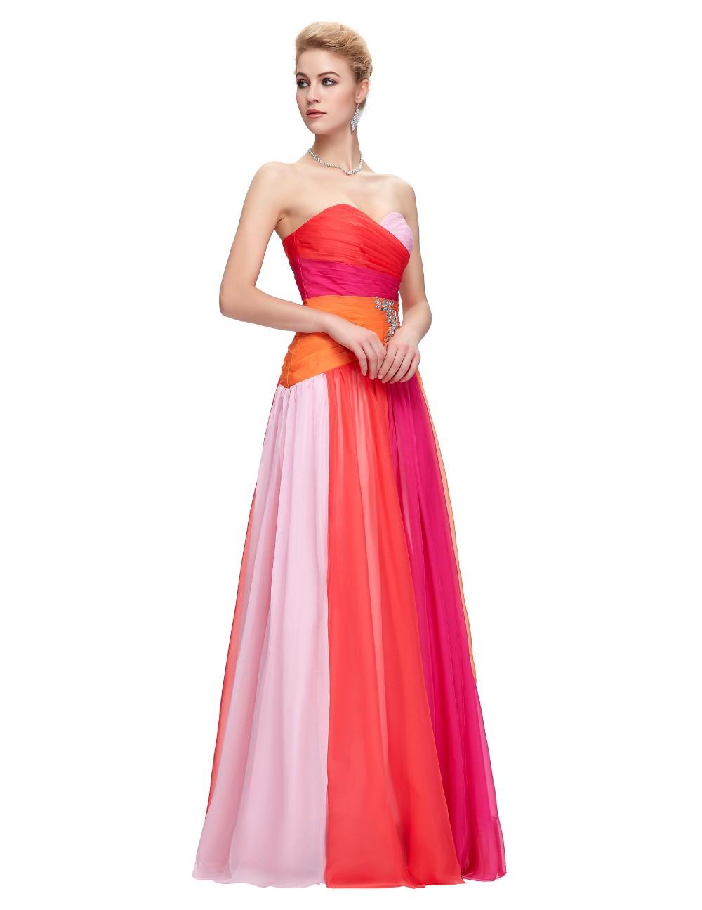 ̿̿̿(•̪ )Royal azul ombre vestido largo elegante Vestidos de baile ...