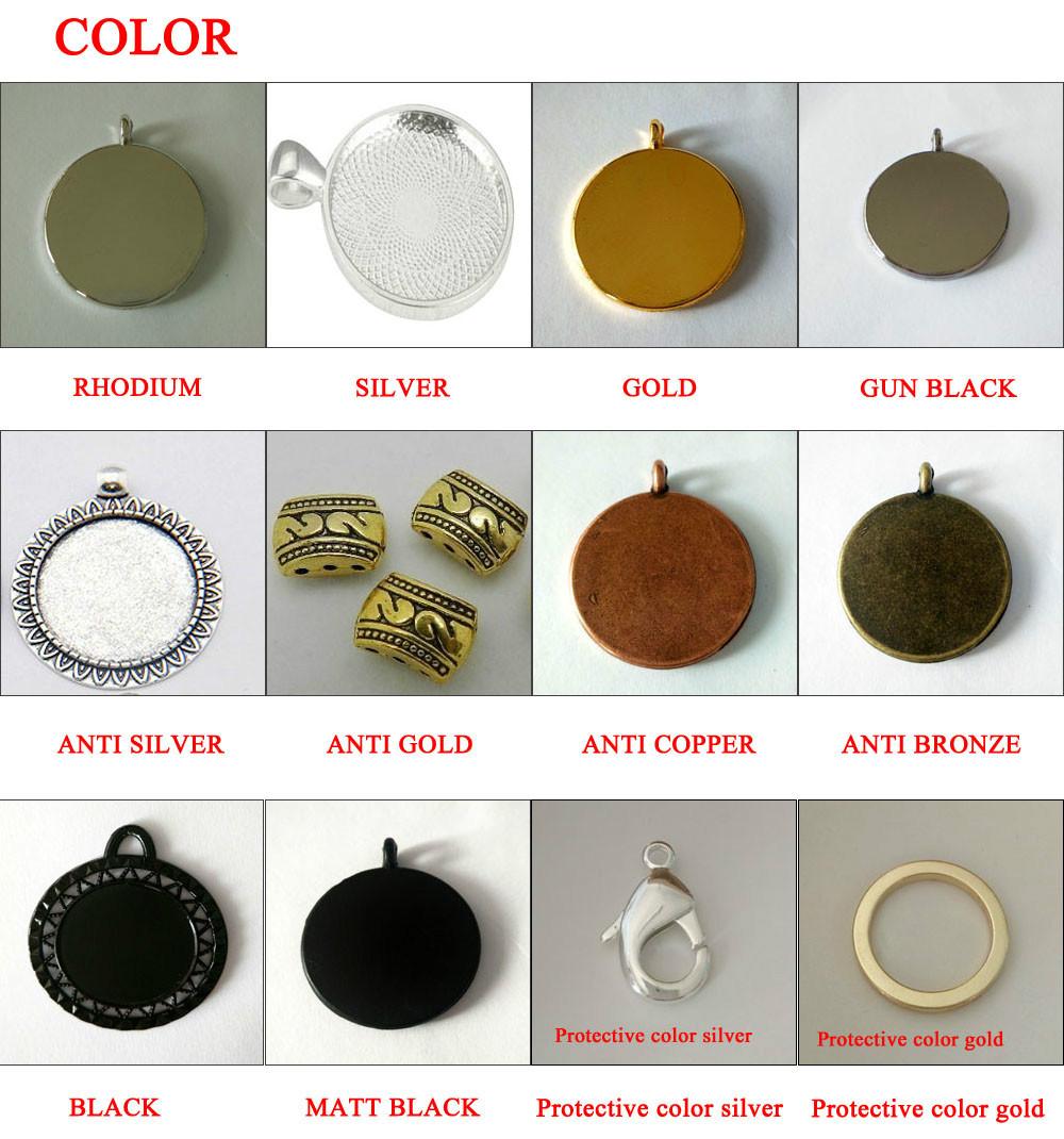 4 m style antique Bronze Alliage Cercle lien Accessoire Collier Bracelet Chaîne 4*4mm
