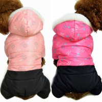 2015 New Thickening Of Dog Down Jacket Large Size Winter