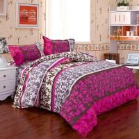Christmas Bedding Set 4pcs / 3pc Girls Queen Size Bedding ...