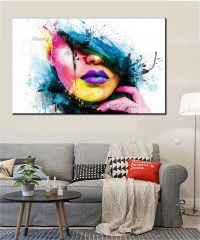 Wall Art For Large Walls Fashion Canvas Painting Sexy ...