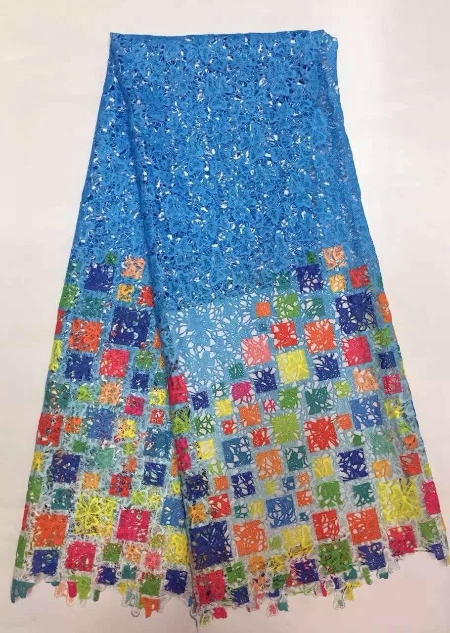 •Водорастворимым цветочные вышивки печати кружевная ткань ...