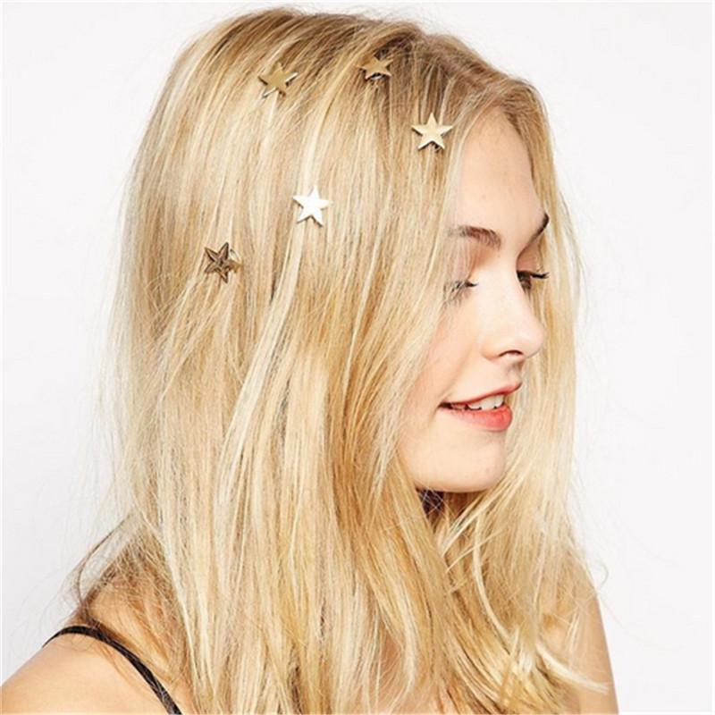 U Shape Retro Metal Hair Fork Hair Pin Hair Pick Square Hair Clip Hair Jewel HC