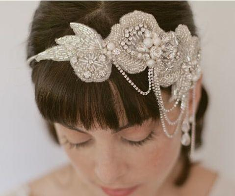 new style vintage wedding hair accessories handmade bride pearl crystal headbands drop shipping