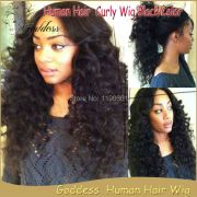 loose curly wig full lace human
