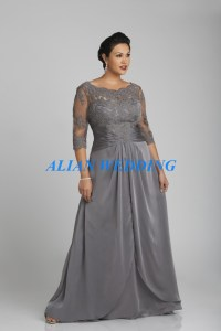 Plus Size Elegant Mother of the Groom Dresses Women Formal