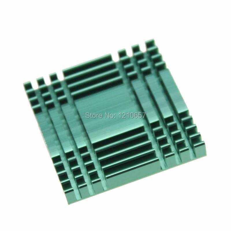 5pcs 40*40*11mm aluminium dissipateur de chaleur pour PC IC Radiateur Ping