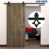 Free shipping Wooden Barn Door Kits Sliding Door Track ...