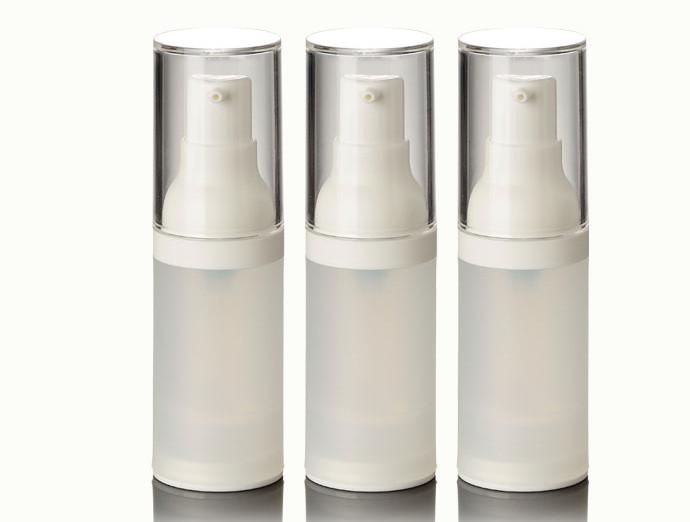 Hot 20 ml flacone airless con frosted corpo pompa bianca f75577c1eb1f