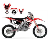 Honda Sticker Kits Dirt Bikes - p Wall Decal