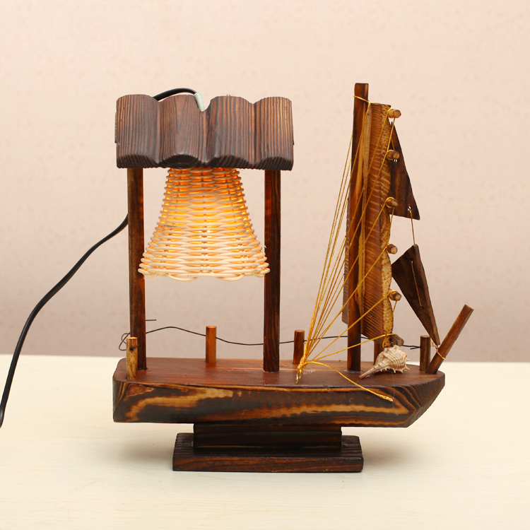 Ceramic modern home decoration handmade table lamp bedroom
