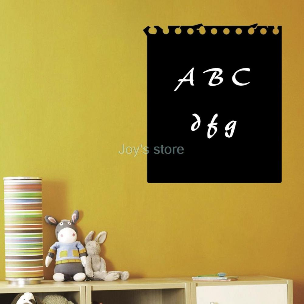 ヾ(^▽^)ノfree shipping new Office Home Decal Chalkboard Wall ...
