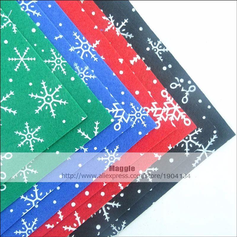 ᑎ‰Poliéster sentiu tecido não tecido material de neve flocos de ... bab584a0bb