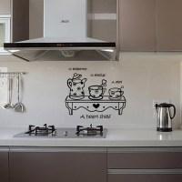 Latest Kitchen Sticker Wall Sticker Home Decor Cabinet ...
