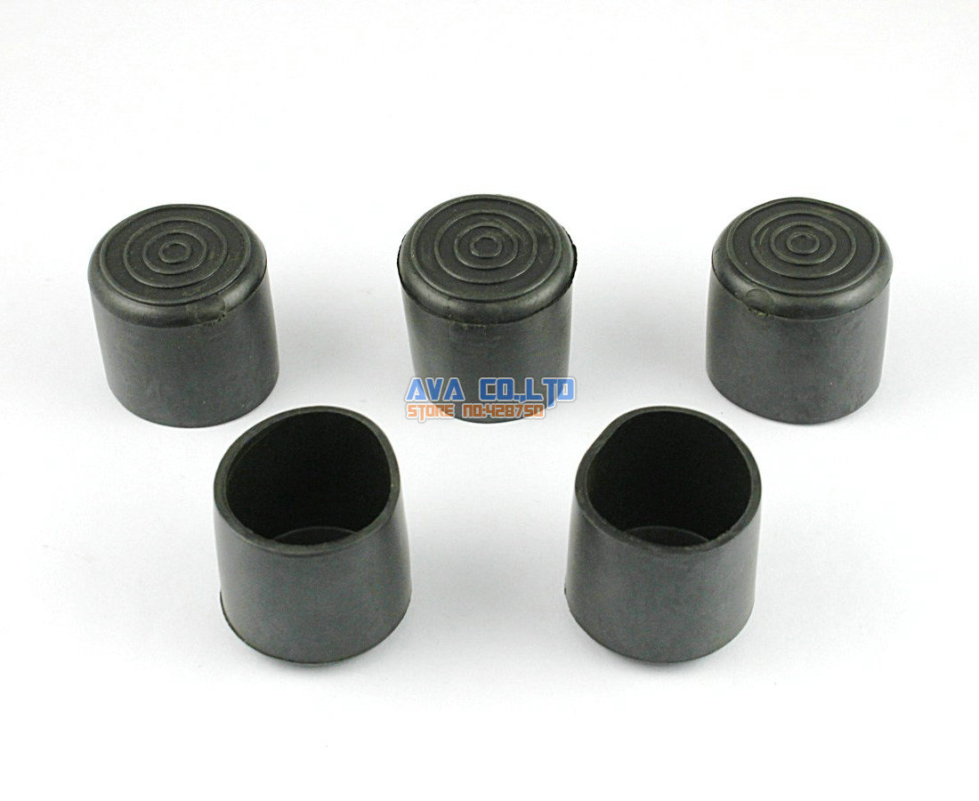 rubber chair leg protectors how to cane a seat pre woven aliexpress buy 40 pieces 25mm round furniture