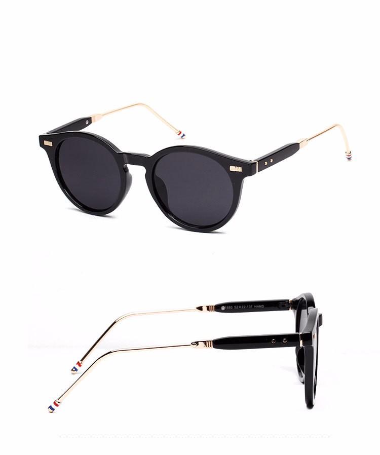 Óculos frete grátis new moda óculos mulheres homens moda retro oval óculos  de sol verão 4 cores óculos c12e33ae5c
