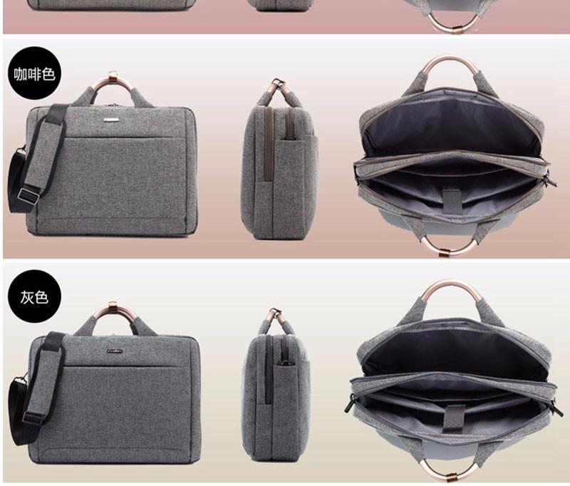 96a0b8e0669a Coolbell водонепроницаемый 15.6 дюймов модные сумки ноутбука Портфели сумка  Для мужчин Для женщин ноутбука Тетрадь сумка для ноутбука