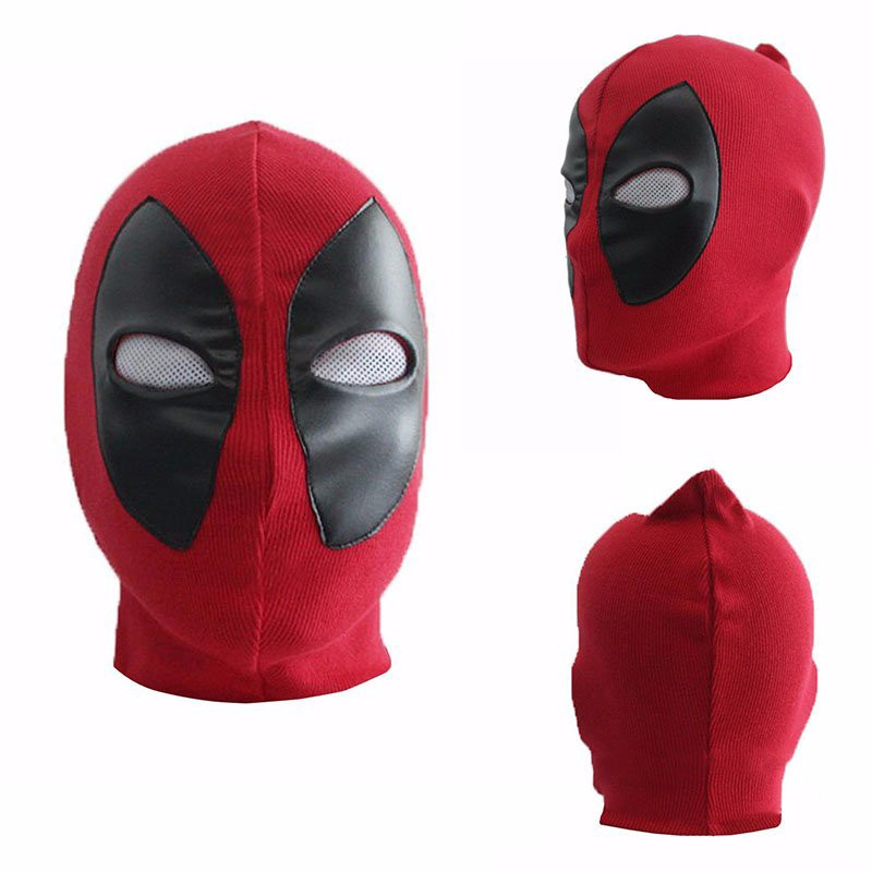 ΞHalloween deadpool máscara Arma X superhéroe Cosplay traje x-men ...