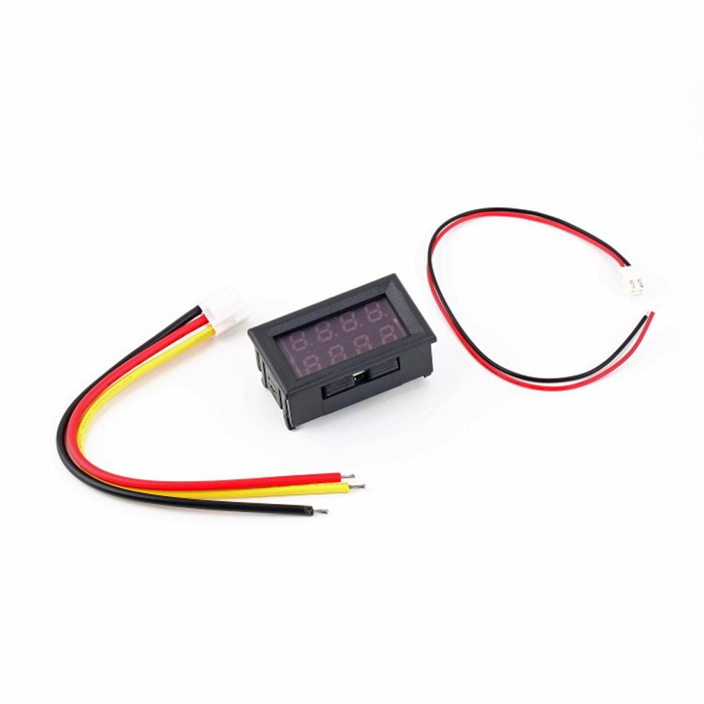 1pc Dc 0 30v 10a Voltmeter Ammeter Blue Red Led Amp Dual Digital Tang Ampere Ac Volth S 34 Aeproductgetsubject