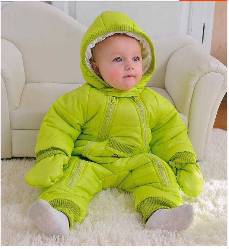 4e74995b4 웃 유Baby Coverall clothing thick warm fall and winter clothes ...