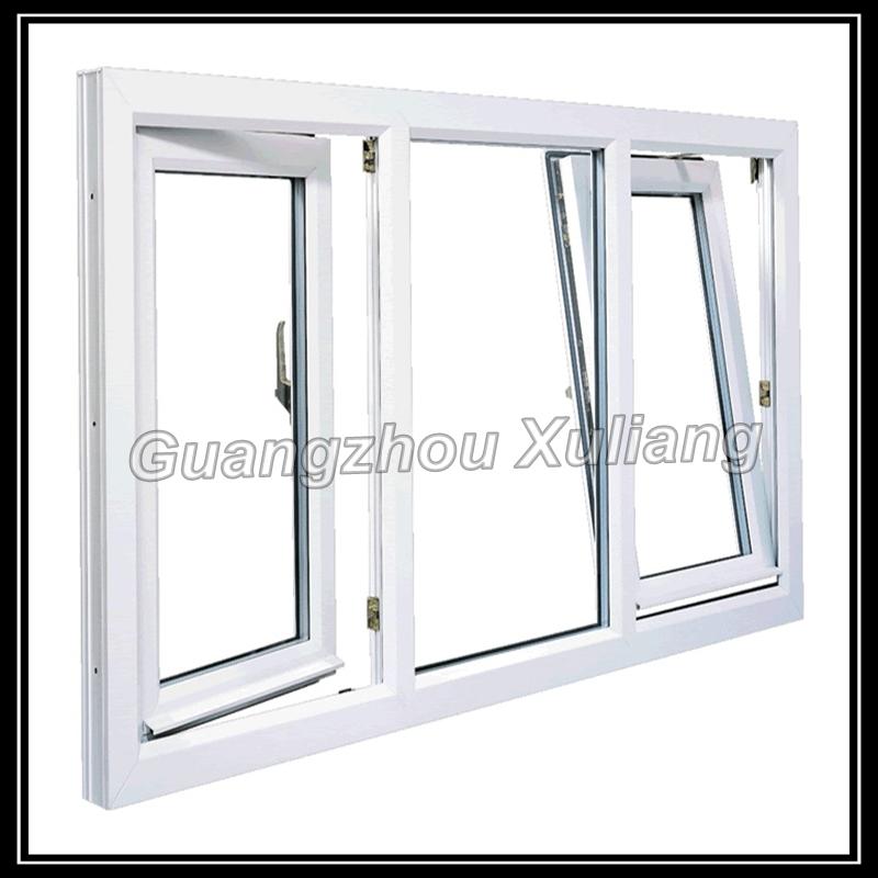 Cheap price house windows for sale Upvc tilt turn windows