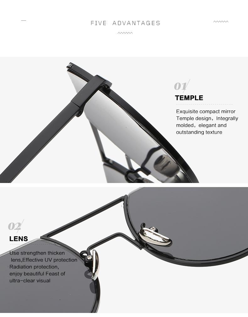 Click here!! HINDFIELD Moda Oversized óculos de sol Das Mulheres Marca de  Luxo Designer de Armação de Metal Óculos de Sol Para As Mulheres oculos de  sol ... fb690e7094