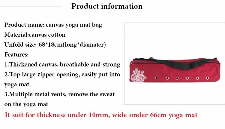 ΞLona caliente Yoga gimnasio Esterillas bolsa Yoga mochila Yoga ...