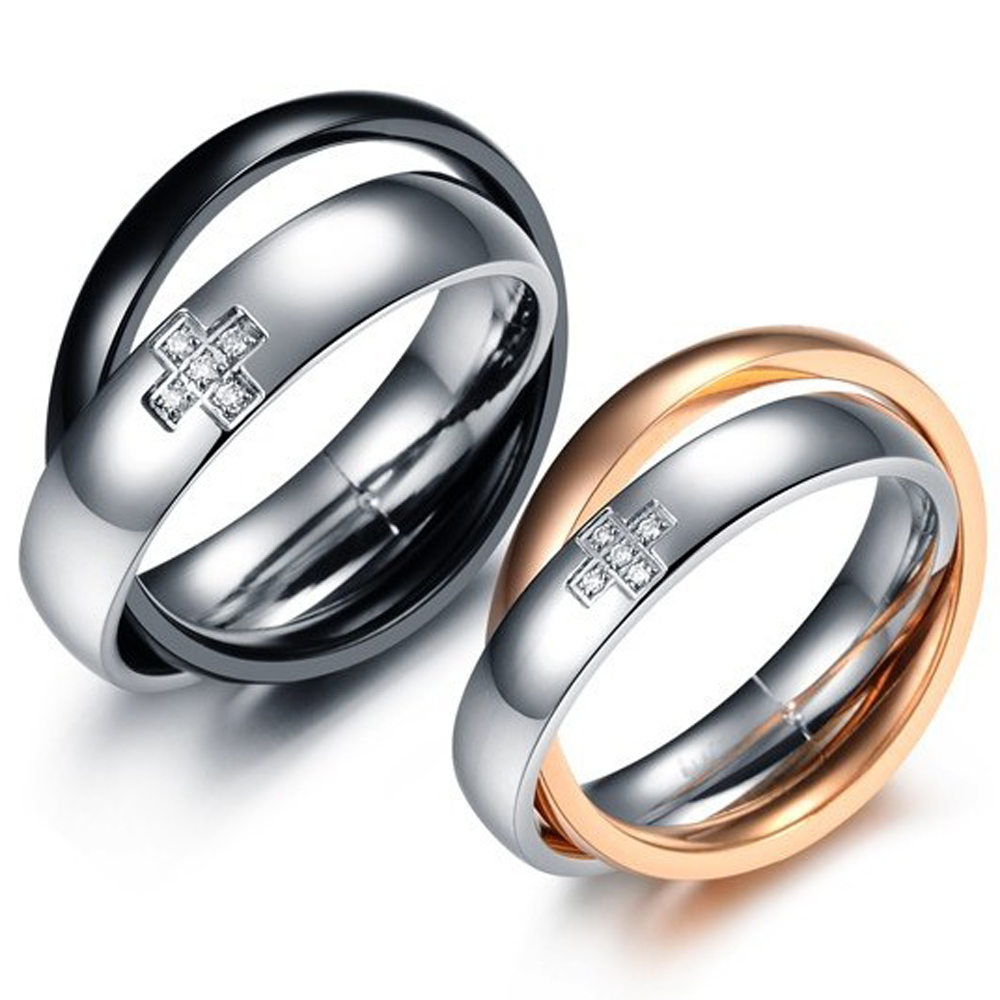 Popular His Her Matching Promise Rings