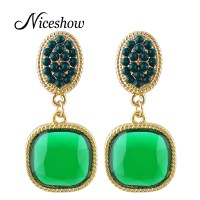 Hot Selling Clip on Earrings Blue Red Yellow Purple Green