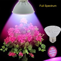10W 106 LEDs Full Spectrum Grow Light AC85 265V E27 Indoor