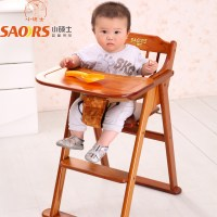 Small-wood-folding-baby-dining-chair-portable-baby-dining ...